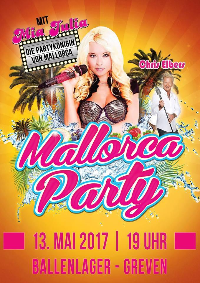 Mallorca Party Mia Julia Greven Ballenlager